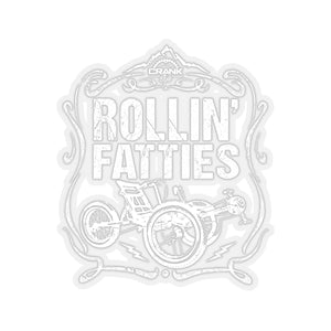 Rollin' Fatties Fat Tad Trike Stickers