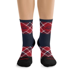 Scottish Plaid 3/4 MTB Socks