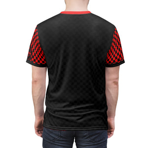 Just Ride MTB Jersey Red/Black Checker