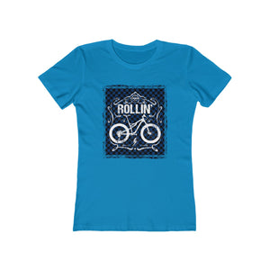 Women's Vintage Rollin Blue Chain/Check Tee