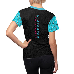 Women's Day of Dead GU DriFit Training Tee