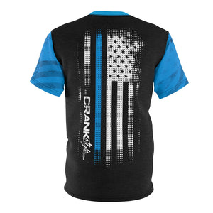 "Police ""Real American Hero's"" Blueline MTB Jersey"