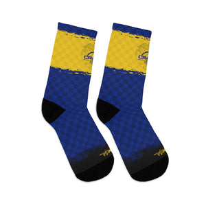 Oregon Checker 3/4 MTB Socks