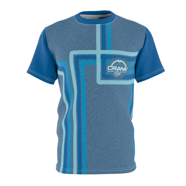 CS Blue Retro MTB Jersey