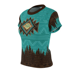 SW Aztec Turquoise & Brown MTB Jersey