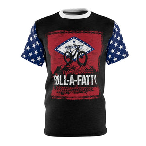 RollaFatty Arkansas Flag Chain  MTB Jersey