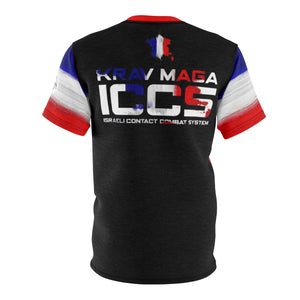 ICCS France Krav Maga DriFit Training Tee