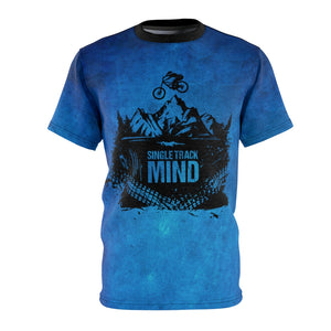 "Single Track Mind ""Blue"" DriFit MTB Jersey"