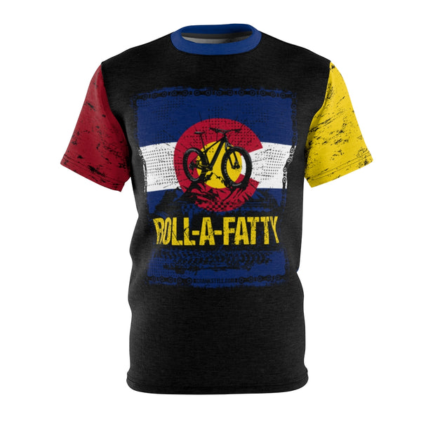 Colorado Flag RollaFatty Chain MTB Jersey