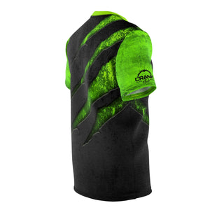 "Scratched Metal ""Alien Green"" MTB Jersey"