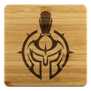 Gladiator Bamboo Coaster Set (4)