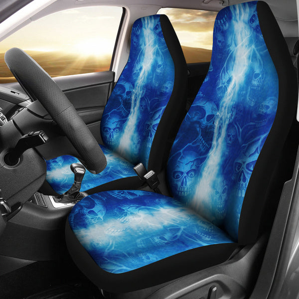 Screaming Skulls Seat Covers