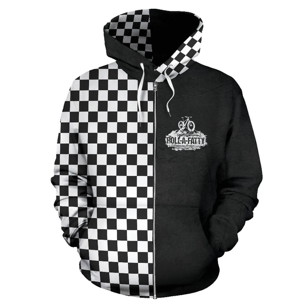 RollAFatty Checkered Zip