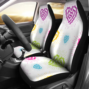 WHT Chain Heart Seat Covers