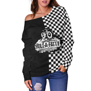 RollAFatty Off Shoulder