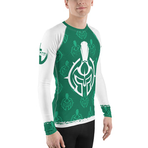 Gladiator Underground Men's Rash Guard - Green Belt