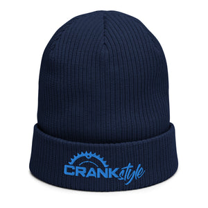 Crank Style's Organic ribbed beanie