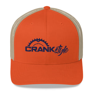 Crank Style Six-panel Trucker Hat