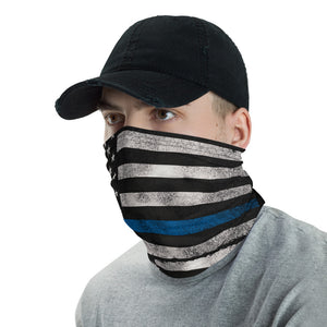 Blueline Flag Face Mask / Neck Gaiter