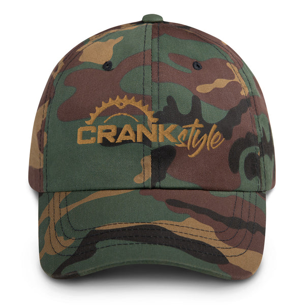 "Crank Style Classic Camo ""dads"" Hat"