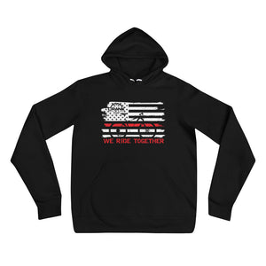 Redline We Ride Together Hoodie