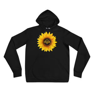 Unisex Sunflower Checker hoodie