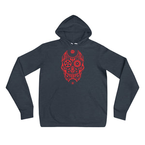 Red Gear-Head Hoodie