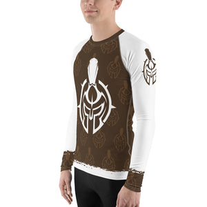 Gladiator Underground Men's Rash Guard - Brown Belt