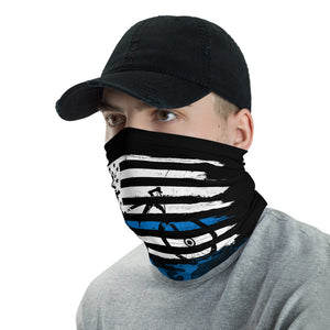 CS Blue Line Face Mask / Neck Gaiter