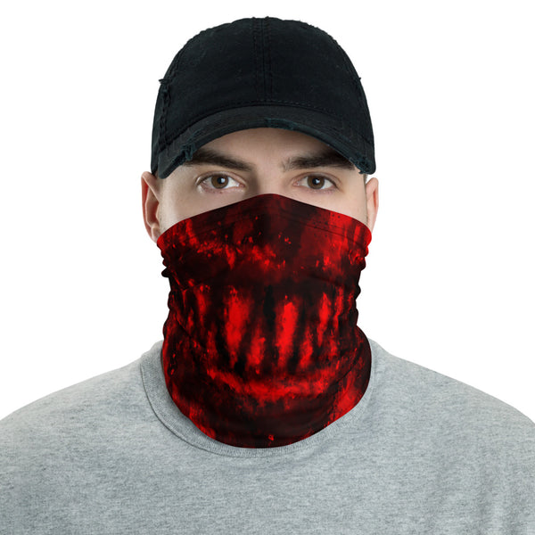 Evil Red Face Mask / Neck Gaiter
