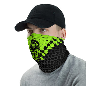 Industrial Neon Green Face Mask / Neck Gaiter