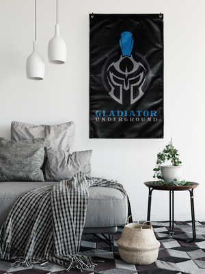 Gladiator Underground Wall Flag