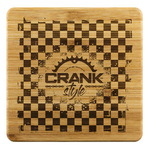 Checkerboard Bamboo Coaster