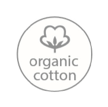 Care instructions Aquanova products symbol organic cotton