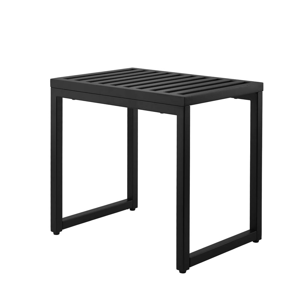 Orto bath bench black