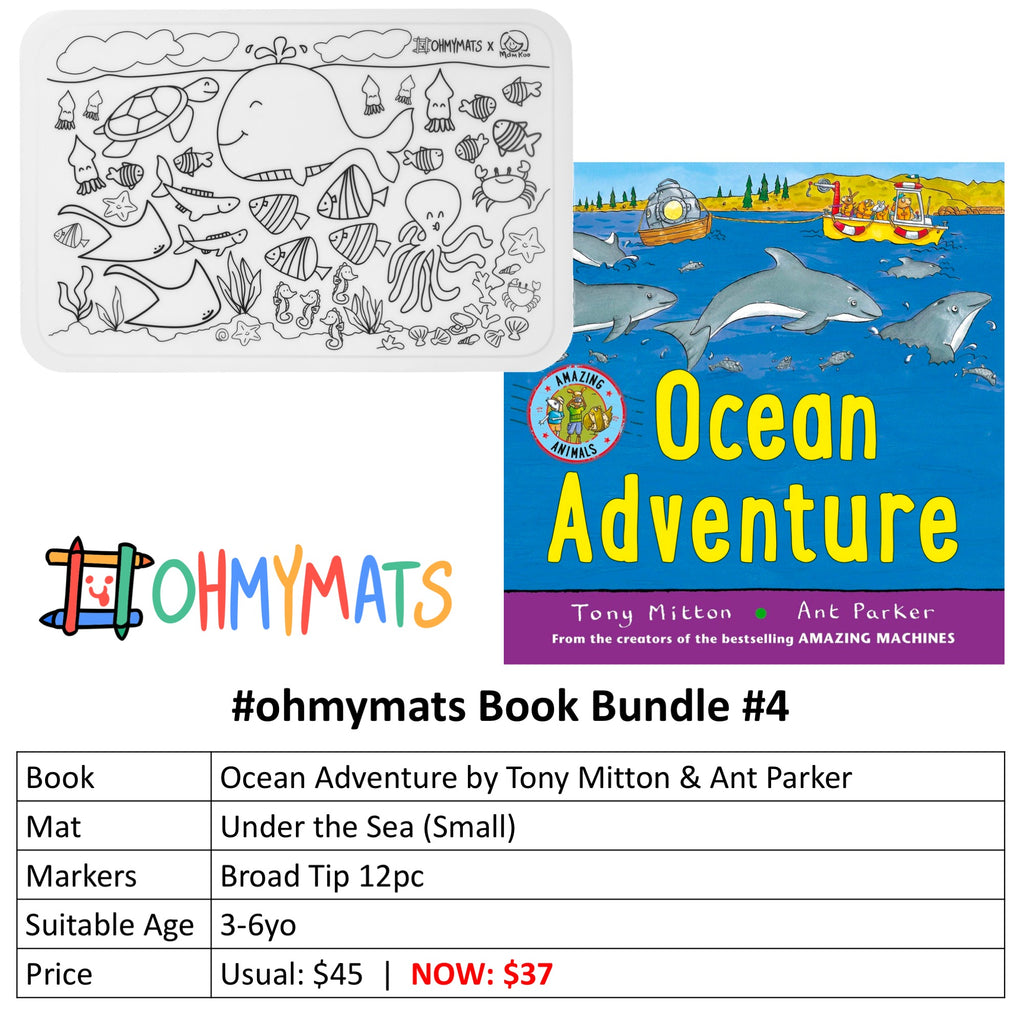 #ohmymats X Books - Specially Curated Bundles!