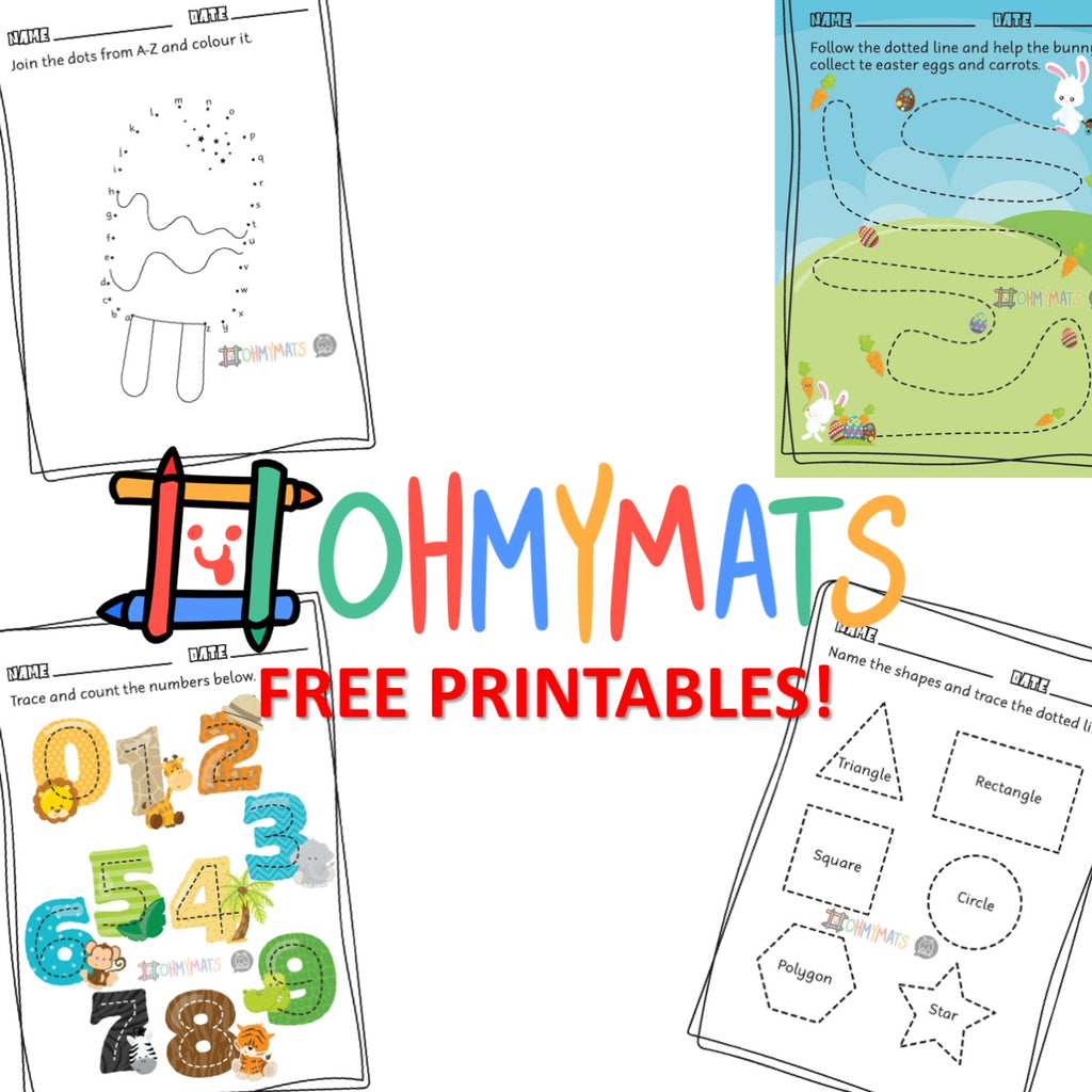 Free: Printable for 4yo and younger