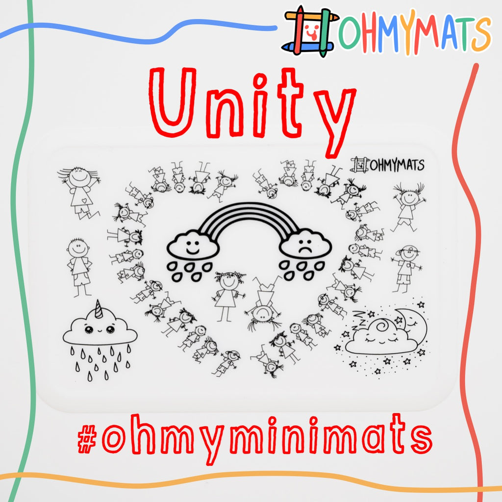 #ohmyminimats - Unity - Reusable Mini Colouring Mats