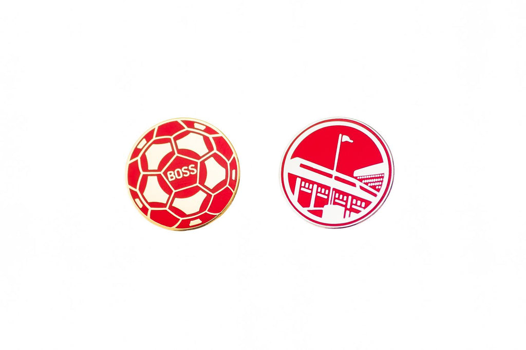 BOSS/UTR Pin Badge Set