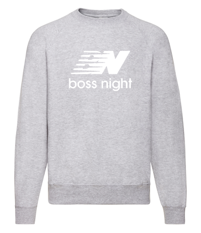 BOSS Night - Grey Sweatshirt [SAMPLE]