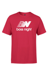 BOSS - Balance (White Logo) (Kids ) (Red)