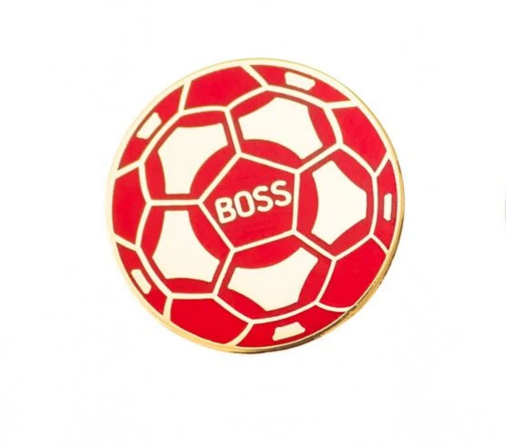 BOSS - Pin Badge