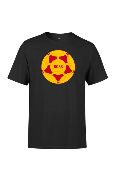 BOSS - Ball Logo - Red / Yellow (Black)