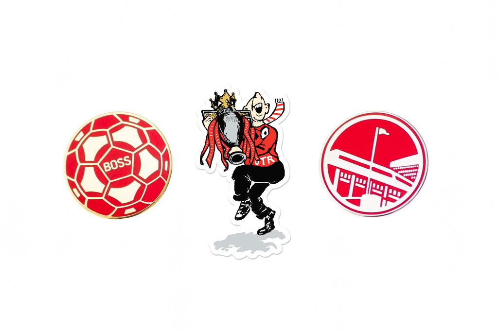 UTR - Champions Pin Badge Set