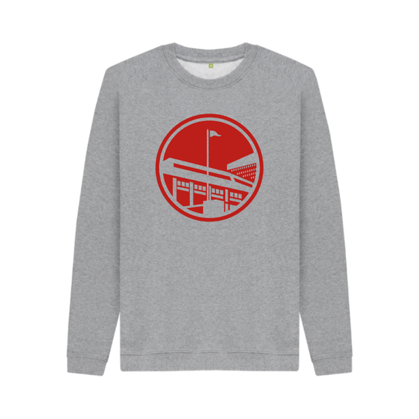 UTR Kids - Up The Reds Crew Neck (Athletic Grey)
