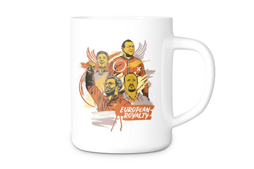 UTR Boxed Mug - European Royalty