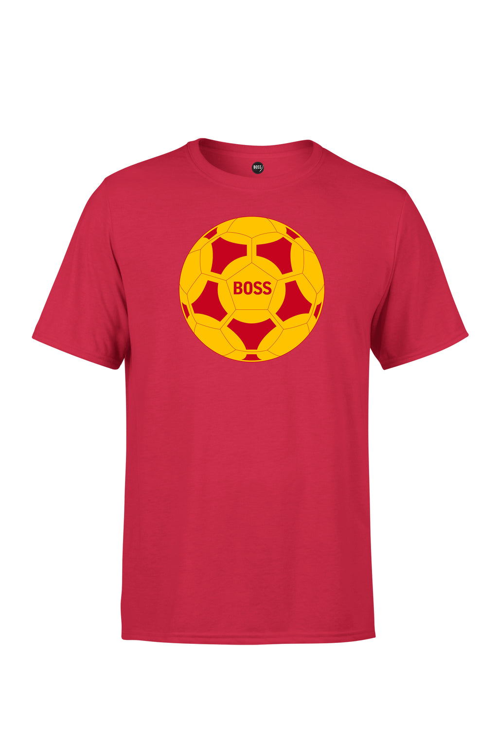 BOSS - Ball Logo - Red / Yellow (Red)