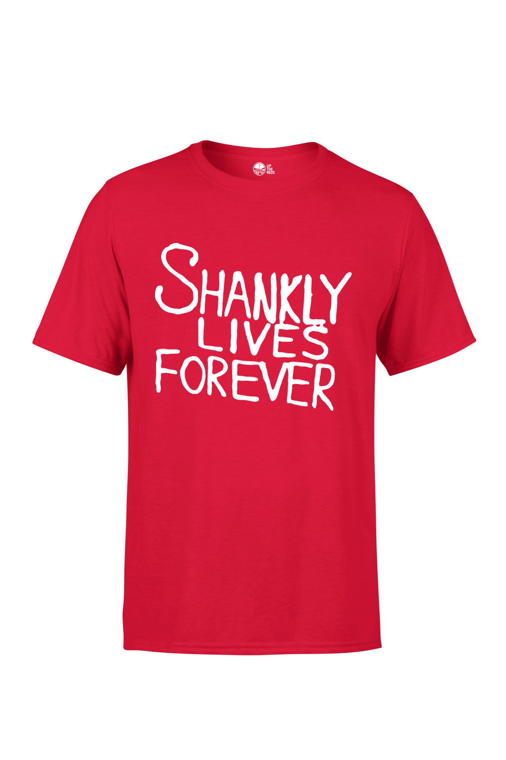 UTR - Shankly Lives Forever (White Text)