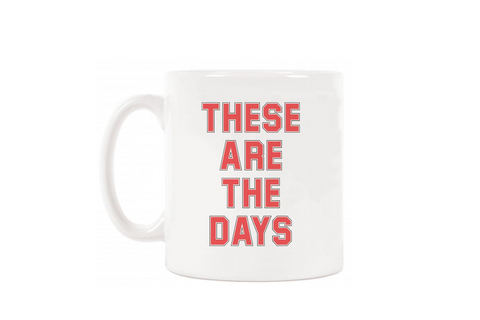 UTR Boxed Mug - These Are The Days