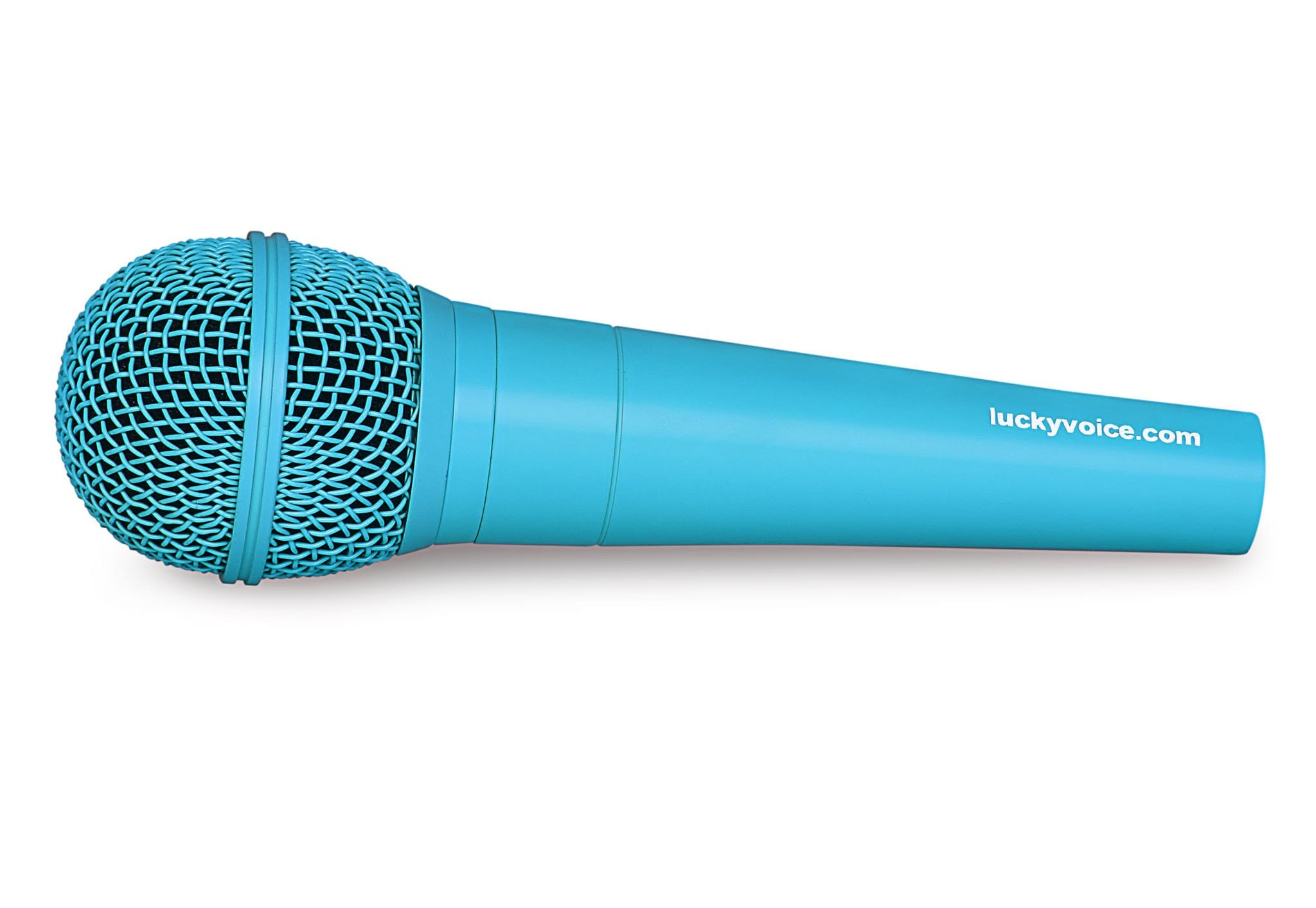 Lucky Voice Blue Microphone
